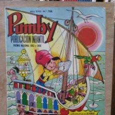 Tebeos: PUMBY - AÑO XVIII Nº 788 - ED. VALENCIANA. Lote 180166400