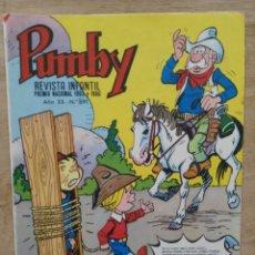 Tebeos: PUMBY - AÑO XX Nº 891 - ED. VALENCIANA. Lote 180166557