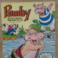 Tebeos: PUMBY - AÑO XXI Nº 897 - ED. VALENCIANA. Lote 180166650