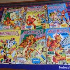 Tebeos: MAZINGER Z NºS 1 2 12 Y NUEVAS AVENTURAS DE MAZINGER Z NºS 6 7 28. VALENCIANA 1978. 35 PTS. . Lote 180293353