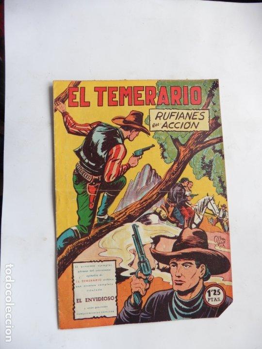 EL TEMERARIO Nº 37 VALENCIANA ORIGINAL (Tebeos y Comics - Valenciana - Otros)