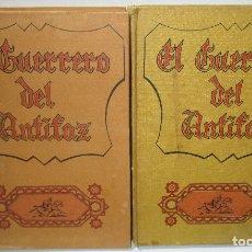 Tebeos: LOTE 2 TOMOS EL GUERRERO DEL ANTIFAZ Nº 1-10, EDITORIAL VALENCIANA 1972-76. Lote 110418383