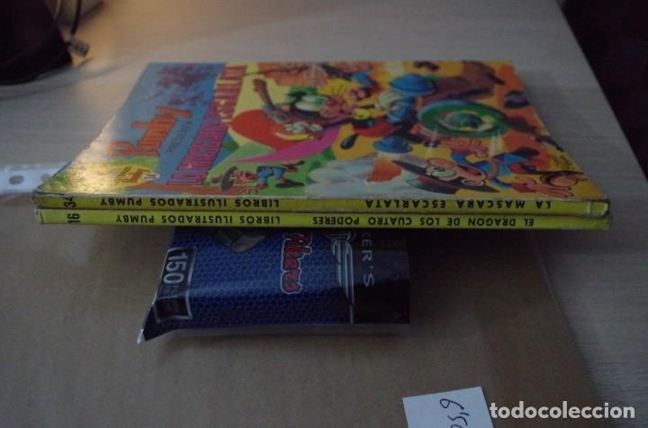 Tebeos: LIBROS ILUSTRADOS PUMBY Nº 16 EL DRAGON DE LOS CUATRO PODERES - VALENCIANA 1969 - Foto 4 - 180434980