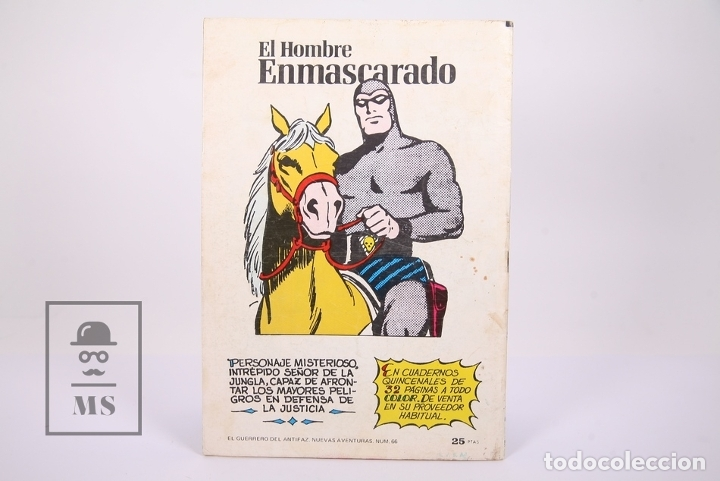 Tebeos: Cómic El Guerrero del Antifaz - Publicación Juvenil - Número 66 - Ed. Valenciana 1980 - Foto 3 - 180466946