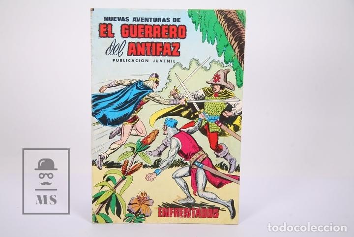 Tebeos: Cómic El Guerrero del Antifaz - Publicación Juvenil - Número 66 - Ed. Valenciana 1980 - Foto 2 - 180466946