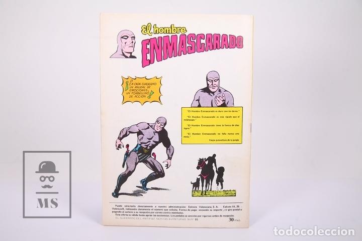 Tebeos: Cómic El Guerrero del Antifaz - Publicación Juvenil - Número 85 - Ed. Valenciana 1980 - Foto 3 - 180467018