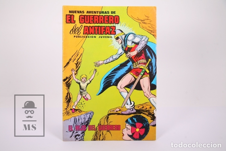 Tebeos: Cómic El Guerrero del Antifaz - Publicación Juvenil - Número 85 - Ed. Valenciana 1980 - Foto 2 - 180467018