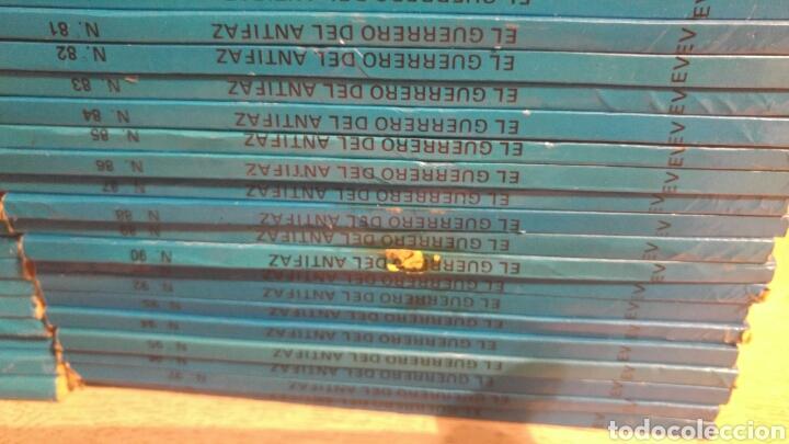 Tebeos: GUERRERO DEL ANTIFAZ COLECCION COMPLETA DE 98 TOMOS EDITORIAL VALENCIANA 1981 - Foto 4 - 180516022