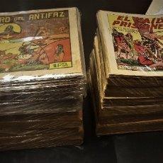 Tebeos: EL GUERRERO DEL ANTIFAZ. COLECCIÓN COMPLETA: 668 EJEMPLARES. DE MANUEL GAGO (VALENCIANA,1944). Lote 180852821
