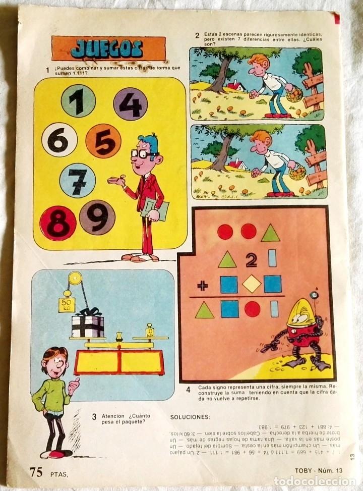Tebeos: Toby Nº13, 1983 - Revista para jóvenes de 6 a 66 años - Foto 2 - 180926730
