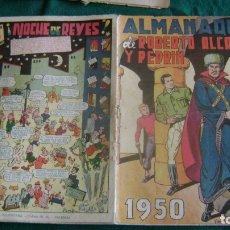 Tebeos: ROBERTO ALCAZAR ALMANAQUE 1950 ORIGINAL CJ 9 . Lote 181204220