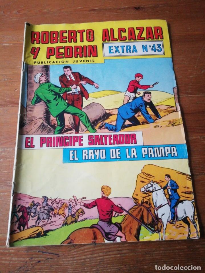 ROBERTO ALCÁZAR Y PEDRIN. EXTRA NÚMERO 43. (Tebeos y Comics - Valenciana - Roberto Alcázar y Pedrín)