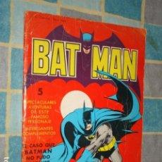 Tebeos: BATMAN: EL CASO QUE BATMAN NO PUDO RESOLVER, 1976, VALENCIANA. Lote 211608245