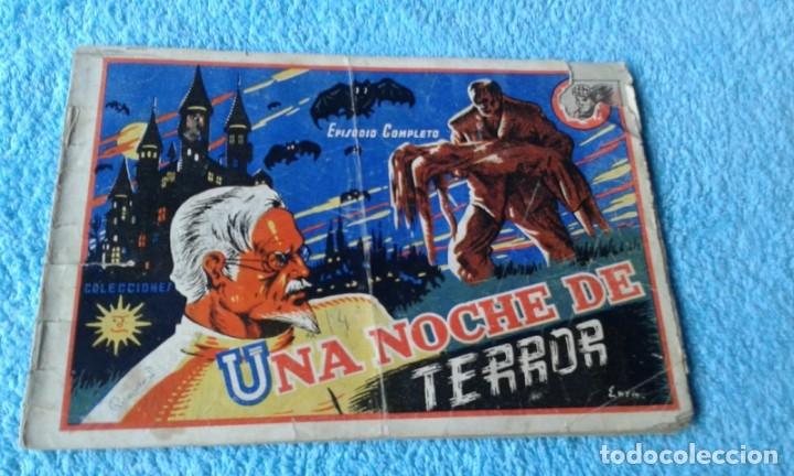 COLECCION SOL (ESTELLER )-1941 - UNA NOCHE DE TERROR -EPISODIO COMPLETO (Tebeos y Comics - Valenciana - Otros)
