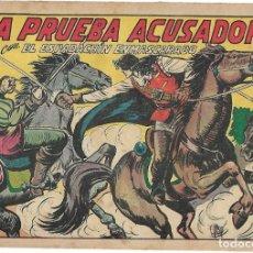 Tebeos: EL ESPADACHIN ENMASCARADO Nº 123, ORIGINAL, VALENCIANA, BUEN ESTADO - LEER TODO. Lote 181923710