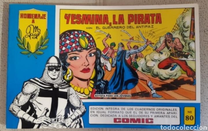 NUM 80. EL GUERRERO DEL ANTIFAZ (Tebeos y Comics - Valenciana - Guerrero del Antifaz)
