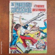 Tebeos: EL PEQUEÑO LUCHADOR - EL FUERTE DESTRUIDO. NUM 35. Lote 182107966