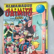 Tebeos: ALMANAQUE JAIMITO PARA 1972. Lote 182108436