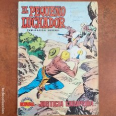 Tebeos: EL PEQUEÑO LUCHADOR- JUSTICIA CUMPLIDA NUM 10. Lote 182110161