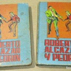 Tebeos: LOTE 2 TOMOS ROBERTO ALCAZAR Y PEDRÍN, Nº 6 + EXTRA Nº 1, EDITORIAL VALENCIANA. Lote 182111450