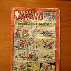 Tebeos: JAIMITO - Nº 600, FOTOGRAFÍA SECRETA - EDITORIAL VALENCIANA 1961. Lote 182200297