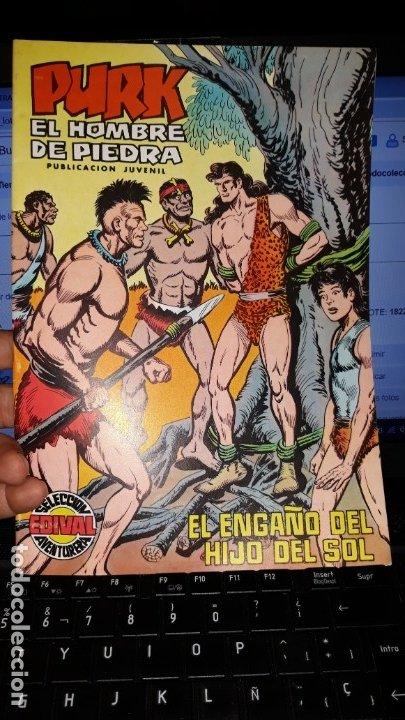 COMIC PURK EL HOMBRE DE PIEDRA Nº 49, SELECCION EDIVAL 1975 (Tebeos y Comics - Valenciana - Purk, el Hombre de Piedra)