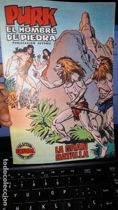 COMIC PURK EL HOMBRE DE PIEDRA Nº 29, SELECCION EDIVAL 1974 (Tebeos y Comics - Valenciana - Purk, el Hombre de Piedra)