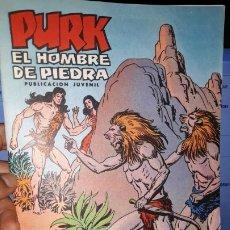 Tebeos: COMIC PURK EL HOMBRE DE PIEDRA Nº 29, SELECCION EDIVAL 1974. Lote 182210866