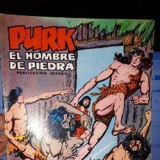 Tebeos: COMIC PURK EL HOMBRE DE PIEDRA Nº 24, SELECCION EDIVAL 1974. Lote 182211502