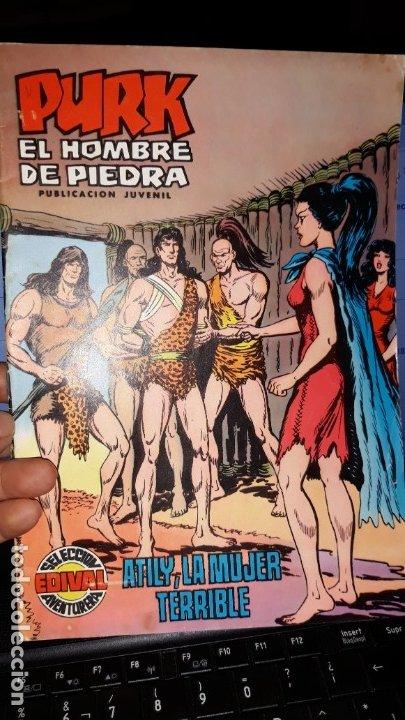 COMIC PURK EL HOMBRE DE PIEDRA Nº 14, SELECCION EDIVAL 1974 (Tebeos y Comics - Valenciana - Purk, el Hombre de Piedra)