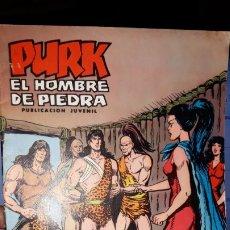 Tebeos: COMIC PURK EL HOMBRE DE PIEDRA Nº 14, SELECCION EDIVAL 1974. Lote 182211786