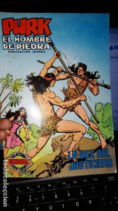 COMIC PURK EL HOMBRE DE PIEDRA Nº 20, SELECCION EDIVAL 1974 (Tebeos y Comics - Valenciana - Purk, el Hombre de Piedra)