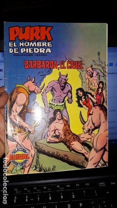 COMIC PURK EL HOMBRE DE PIEDRA Nº 22, SELECCION EDIVAL 1974 (Tebeos y Comics - Valenciana - Purk, el Hombre de Piedra)