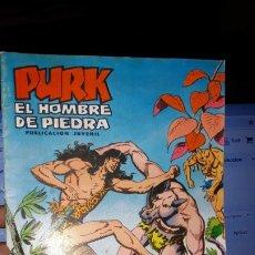 Tebeos: COMIC PURK EL HOMBRE DE PIEDRA Nº 21, SELECCION EDIVAL 1974. Lote 182212642