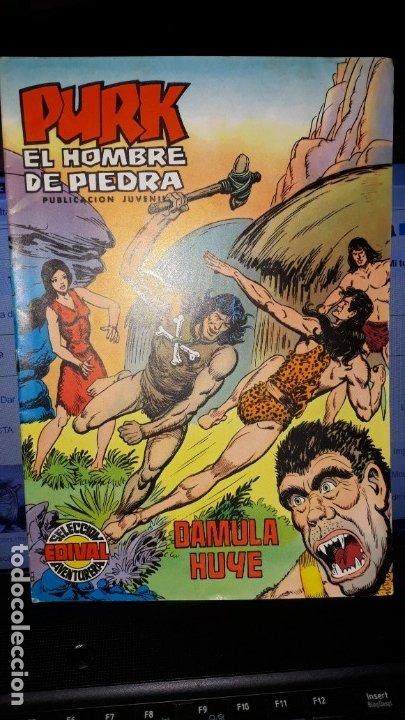 COMIC PURK EL HOMBRE DE PIEDRA Nº 18, SELECCION EDIVAL 1974 (Tebeos y Comics - Valenciana - Purk, el Hombre de Piedra)