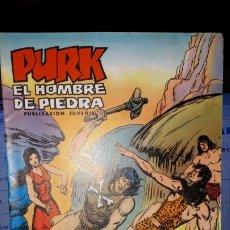 Tebeos: COMIC PURK EL HOMBRE DE PIEDRA Nº 18, SELECCION EDIVAL 1974. Lote 182213097