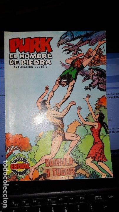 COMIC PURK EL HOMBRE DE PIEDRA Nº 16, SELECCION EDIVAL 1974 (Tebeos y Comics - Valenciana - Purk, el Hombre de Piedra)