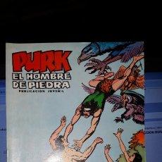 Tebeos: COMIC PURK EL HOMBRE DE PIEDRA Nº 16, SELECCION EDIVAL 1974. Lote 182213543