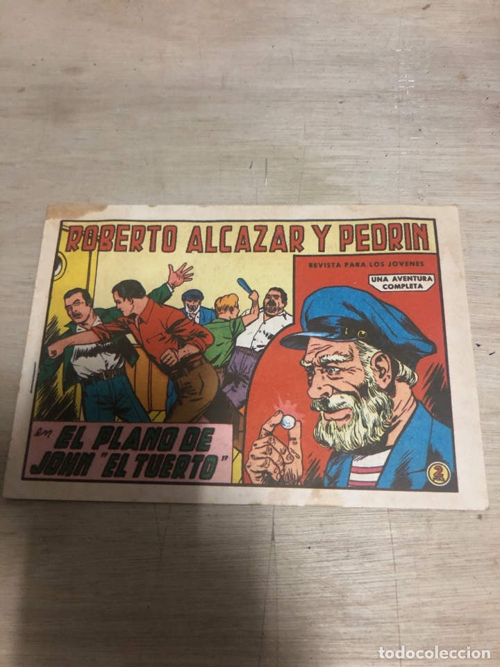 ROBERTO ALCAZAR Y PEDRIN (Tebeos y Comics - Valenciana - Roberto Alcázar y Pedrín)