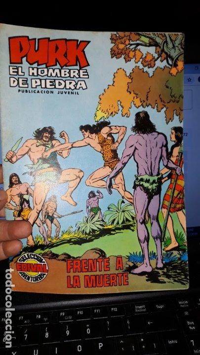 COMIC PURK EL HOMBRE DE PIEDRA Nº 17, SELECCION EDIVAL 1974 (Tebeos y Comics - Valenciana - Purk, el Hombre de Piedra)