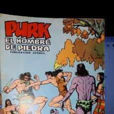 Tebeos: COMIC PURK EL HOMBRE DE PIEDRA Nº 17, SELECCION EDIVAL 1974. Lote 182213872