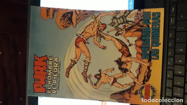 COMIC PURK EL HOMBRE DE PIEDRA Nº 58, SELECCION EDIVAL 1975 (Tebeos y Comics - Valenciana - Purk, el Hombre de Piedra)