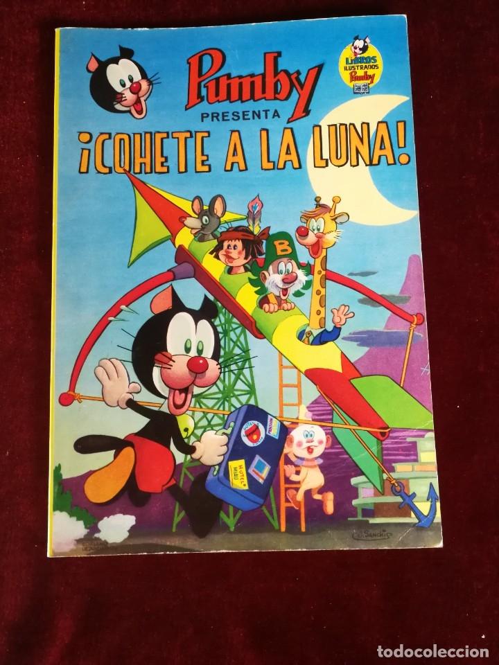 LIBROS ILUSTRADOS PUMBY Nº 8 - PUMBY PRESENTA COHETE A LA LUNA - VALENCIANA 1969 - NUEVO DE QUIOSCO (Tebeos y Comics - Valenciana - Pumby)