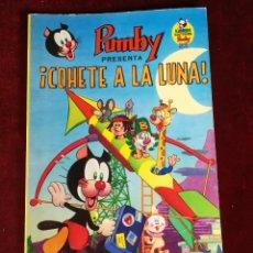 Tebeos: LIBROS ILUSTRADOS PUMBY Nº 8 - PUMBY PRESENTA COHETE A LA LUNA - VALENCIANA 1969 - NUEVO DE QUIOSCO. Lote 182244380
