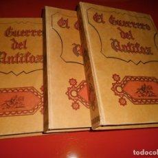 Tebeos: EL GUERRERO DEL ANTIFAZ - TOMOS 1 AL 9 - EDITORA VALENCIANA. Lote 182519012