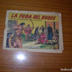 Tebeos: EL GUERRERO DEL ANTIFAZ Nº 365 EDITA VALENCIANA . Lote 182564585