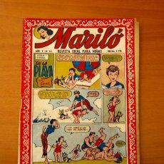 Tebeos: MARILÓ - Nº 96, EN LA PLAYA - EDITORIAL VALENCIANA 1951. Lote 182604197