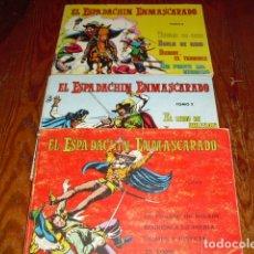 Tebeos: EL ESPADACHIN ENMASCARADO - TOMO 2-3 Y 5-. Lote 182615372