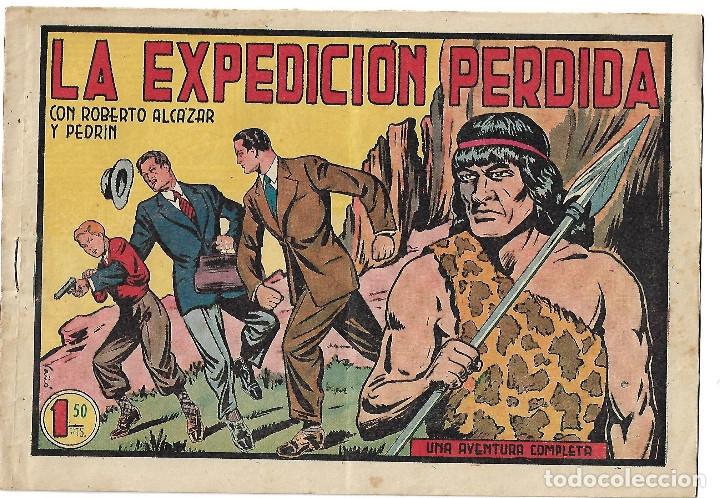 ROBERTO ALCAZAR NUM 225 - ORIGINAL (Tebeos y Comics - Valenciana - Roberto Alcázar y Pedrín)