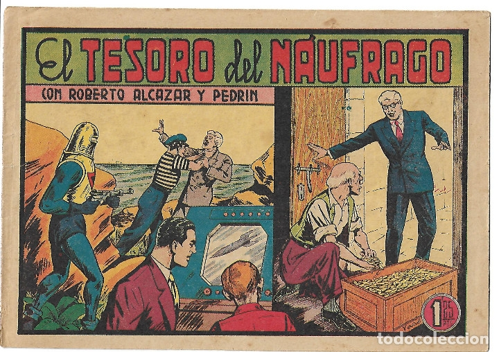 ROBERTO ALCAZAR NUM 283 - ORIGINAL (Tebeos y Comics - Valenciana - Roberto Alcázar y Pedrín)